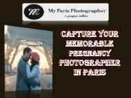 Capture your memorable Pregnancy photographer in Paris