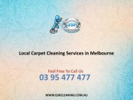 Local Carpet Cleaning Services in Melbourne