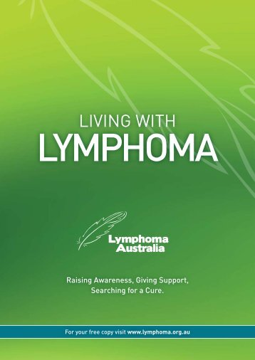 Living with Lymphoma - Peter MacCallum Cancer Centre