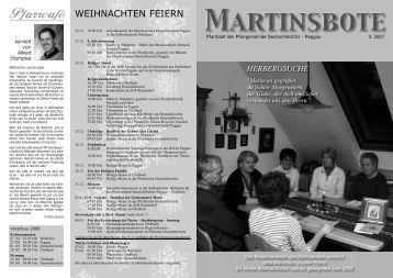 Martinsbote 4. 2007 - Katholische Kirche Steiermark