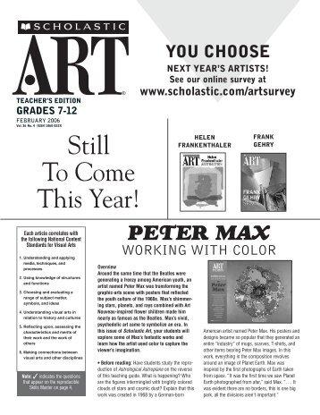 peter max - Scholastic
