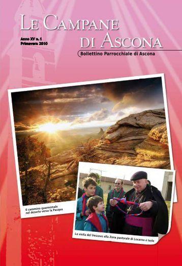 Visitate il sito ufficiale della parrocchia - Parrocchia di Ascona