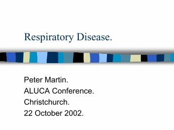 Asthma, Claims & Underwriting - Dr Peter Martin - laduca