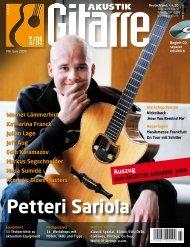 Petteri Sariola - Peter Bursch
