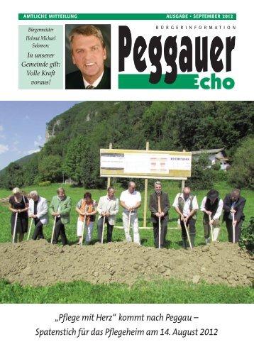 """""""Pflege mit Herz"""" kommt nach Peggau - Marktgemeinde Peggau"""