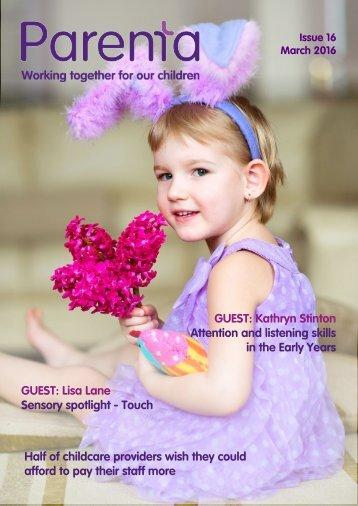Parenta Magazine Issue 14 January 2016 INT