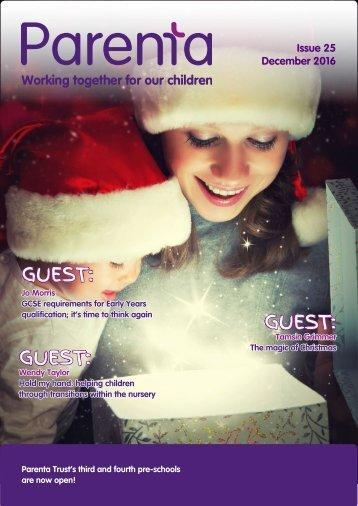 Parenta Magazine Issue 25 30.11.16