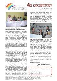 Termine der DIZ - Deutsch-Indische Zusammenarbeit e. V.