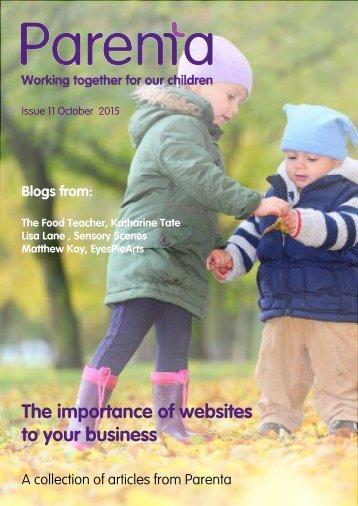 Parenta Magazine Issue 11 October