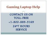 Gaming Laptop help