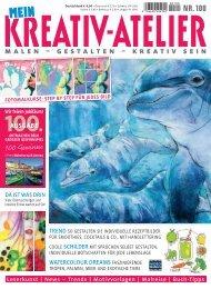 Mein Kreativ-Atelier Nr. 100/2018 - Blick ins Heft