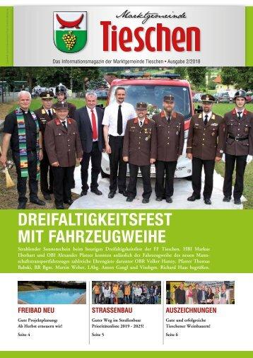 Gemeindezeitung Tieschen - Sommer 2018