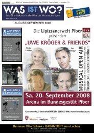 AUGUST/SEPTEMBER 2008 Der neue Otto Schenk - GARANTIERT ...