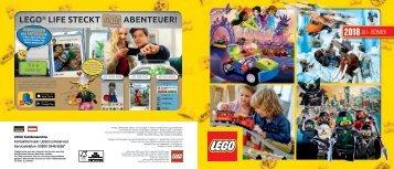 LEGO Flyer 2. Halbjahr 2018