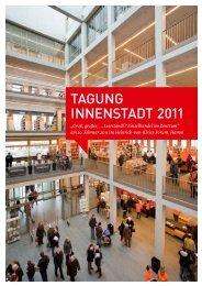 Dokumentation der Tagung - Netzwerk Innenstadt NRW