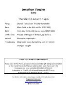 St Mary Redcliffe Church Free Lunchtime Organ Recital - July 12 2018 Jonathan Vaughn - Page 3