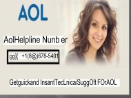 America Online +1-888-678-5401 Aol Email Customer Support Phone Number (1)
