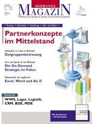 Die On-Demand Strategie im Fokus - Midrange Magazin