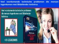 Veel voorkomende technische problemen die mensen tegenkomen met Bitdefender Antivirus