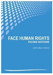 world.culture.initiative FACE HUMAN RIGHTS im UNO ...