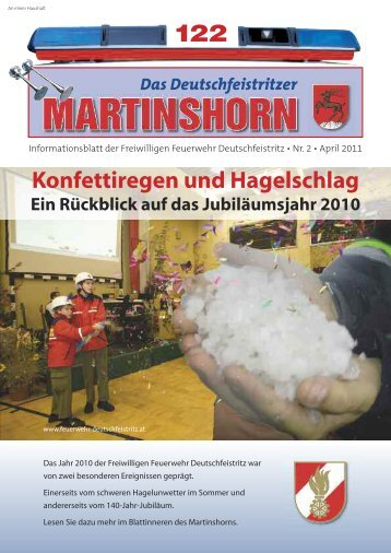 Einsätze - Freiwillige Feuerwehr Deutschfeistritz