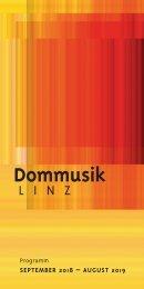 Dommusik Programmheft 2018-19