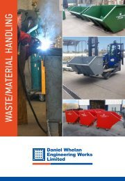Waste and Material Handling