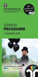 Schornsteinfeger-Akademie NRW Programm 2/2018
