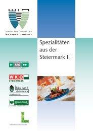 Spezialitäten Steiermark 28Seiter.indd - WIN - Steiermark