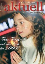 Frohe Festtage und ein Prosit 2008! - Voitsberg