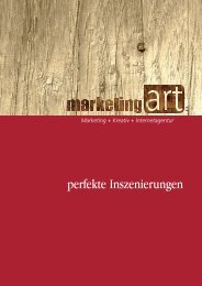 A3 Agenturprofil - Marketing Art