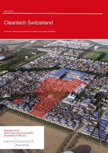 Cleantech Switzerland - Swisscleantech