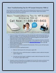 Basic Troubleshooting Tips for HP Scanjet Enterprise 7000 s2
