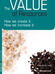 The How we create it How we increase it - Binder+Co AG