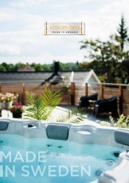 Viskan Spa Hot tub brochure
