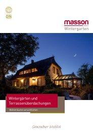 Masson Wintergarten - Katalog 2017
