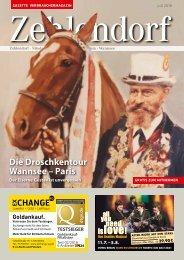 Gazette Zehlendorf Juli 2018