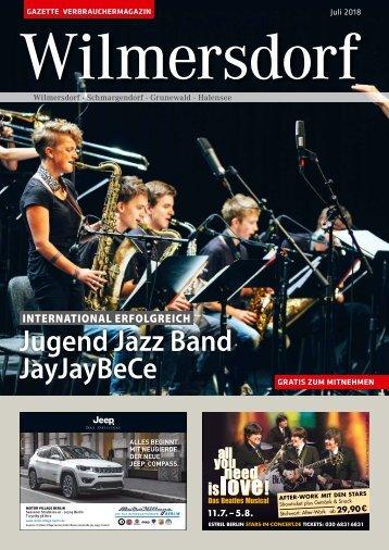 Gazette Wilmersdorf Juli 2018