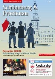 Gazette Schöneberg & Friedenau Juli 2018