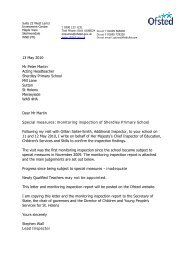 13 May 2010 Mr Peter Martin Acting Headteacher Sherdley ... - Ofsted