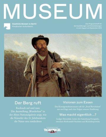 MUSEUM III 2018 - Programmheft der Staatlichen Museen zu Berlin