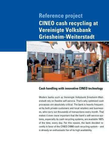 Cash Cycle Management SolutionsTM - always a ... - Wincor Nixdorf