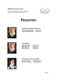 PEDIATRIC - MP Medical Products GmbH