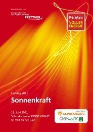 Sonnenkraft - Kärnten voller Energie