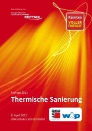 Fachtage 20. Mai 2011 - Kärnten voller Energie