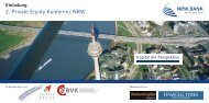 2. Private Equity Konferenz NRW - BRSI
