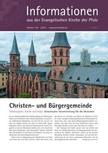 Informationen Nr. 128 - 2/2011 (PDF, 3.98 MB - Evangelische Kirche ...