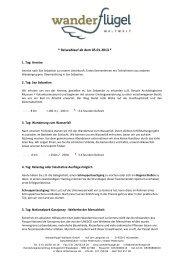 Reiseablauf ab dem 05.01.2013 - Frosch Sportreisen