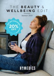 HoMedics Beauty Wellbeing Edit