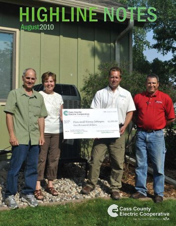 2010 August - Cass County Electric Cooperative